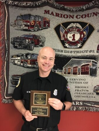 Marion County Fire District #1 Honors Firefighters at Awards Banquet